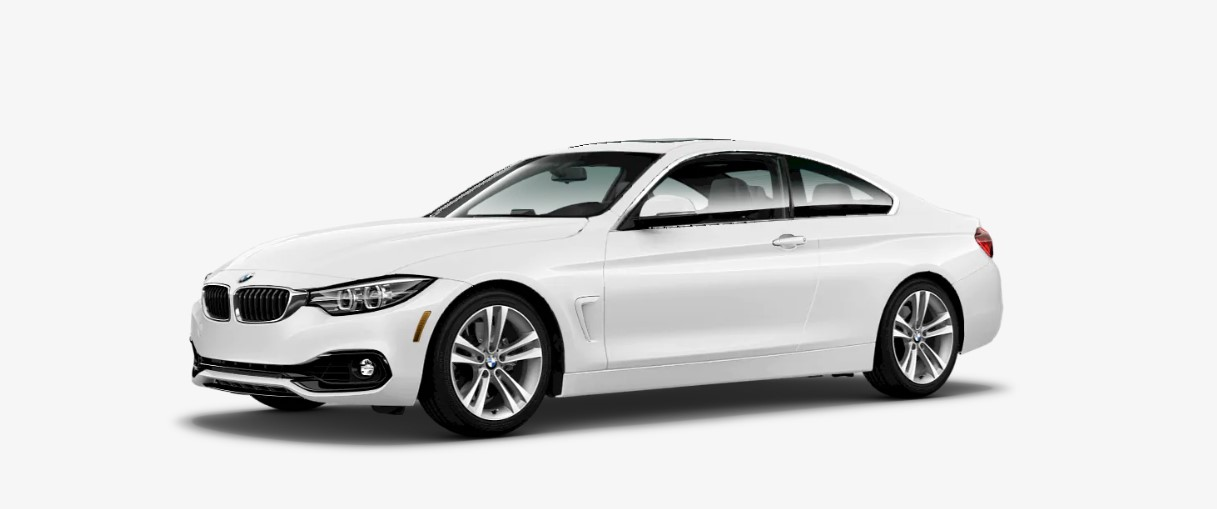 2019 BMW 4 Series 440i Front White Exterior