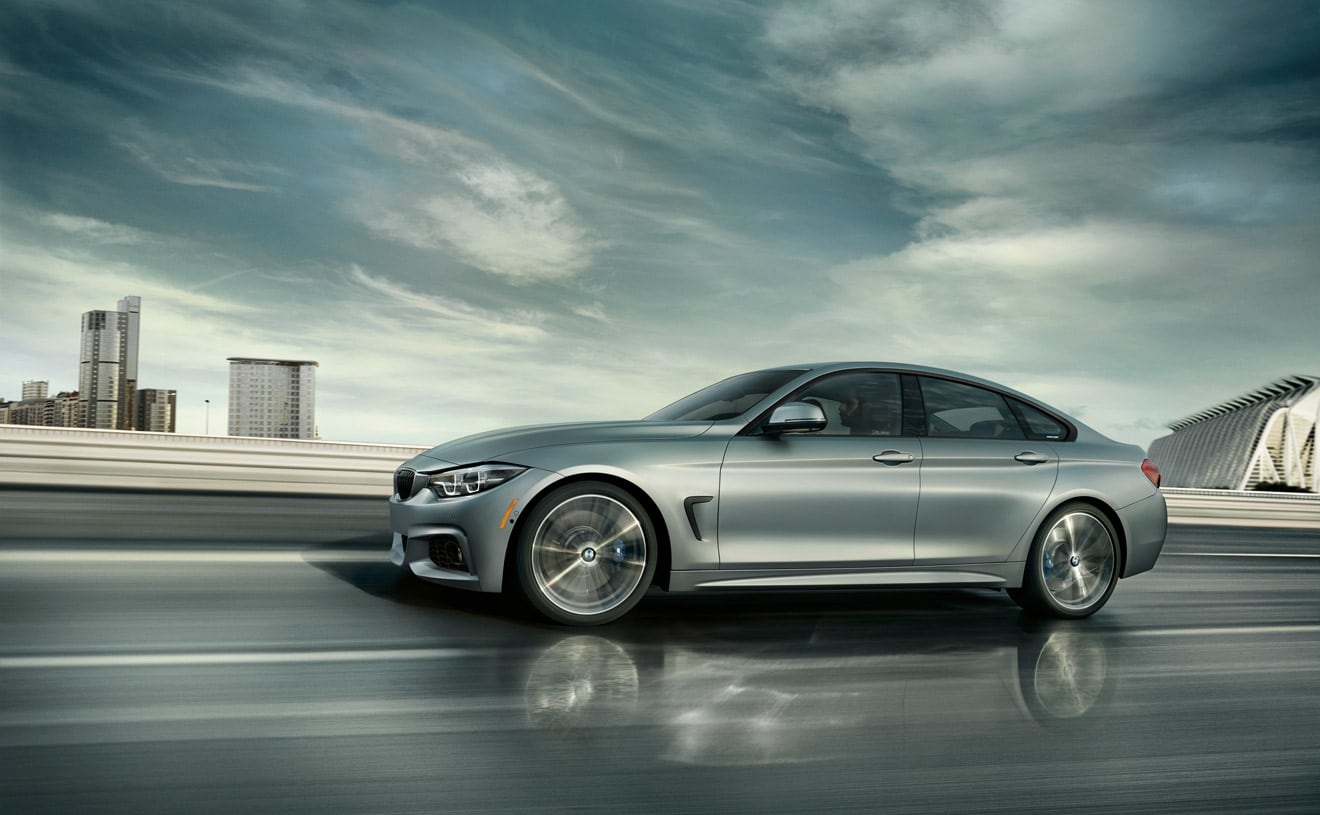 2019 BMW 430i Gran Coupe Side Silver Exterior