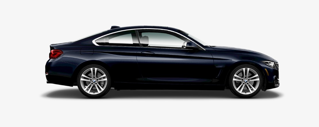 2019 BMW 440i Side Dark Blue Exterior