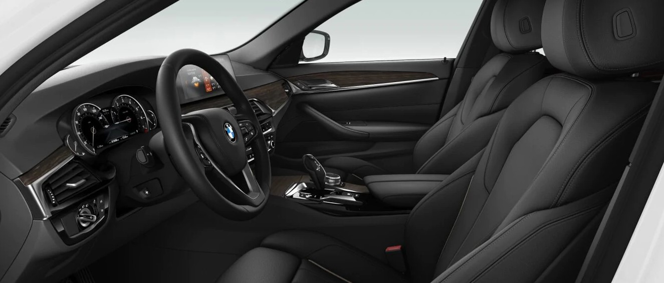 2019 BMW 540i Sedan Black Interior