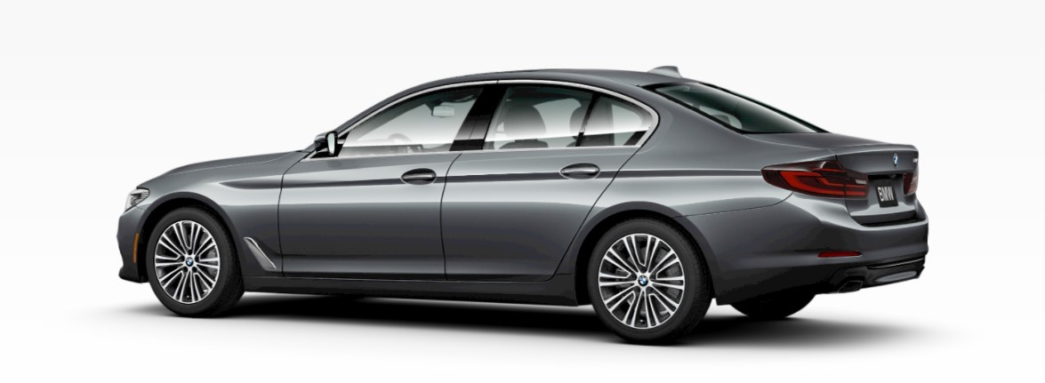 2019 BMW 540i Bluestone Metallic Rear Exterior