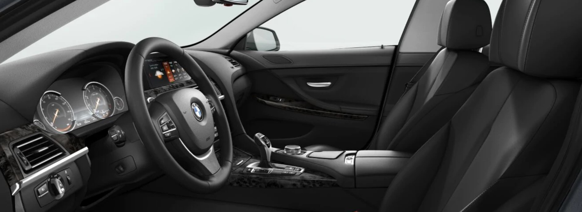 2019 BMW 640i Black Interior