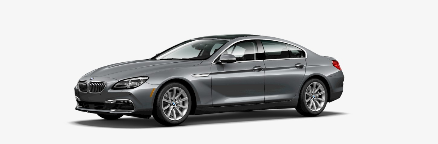 2019 BMW 640i Front Silver Exterior