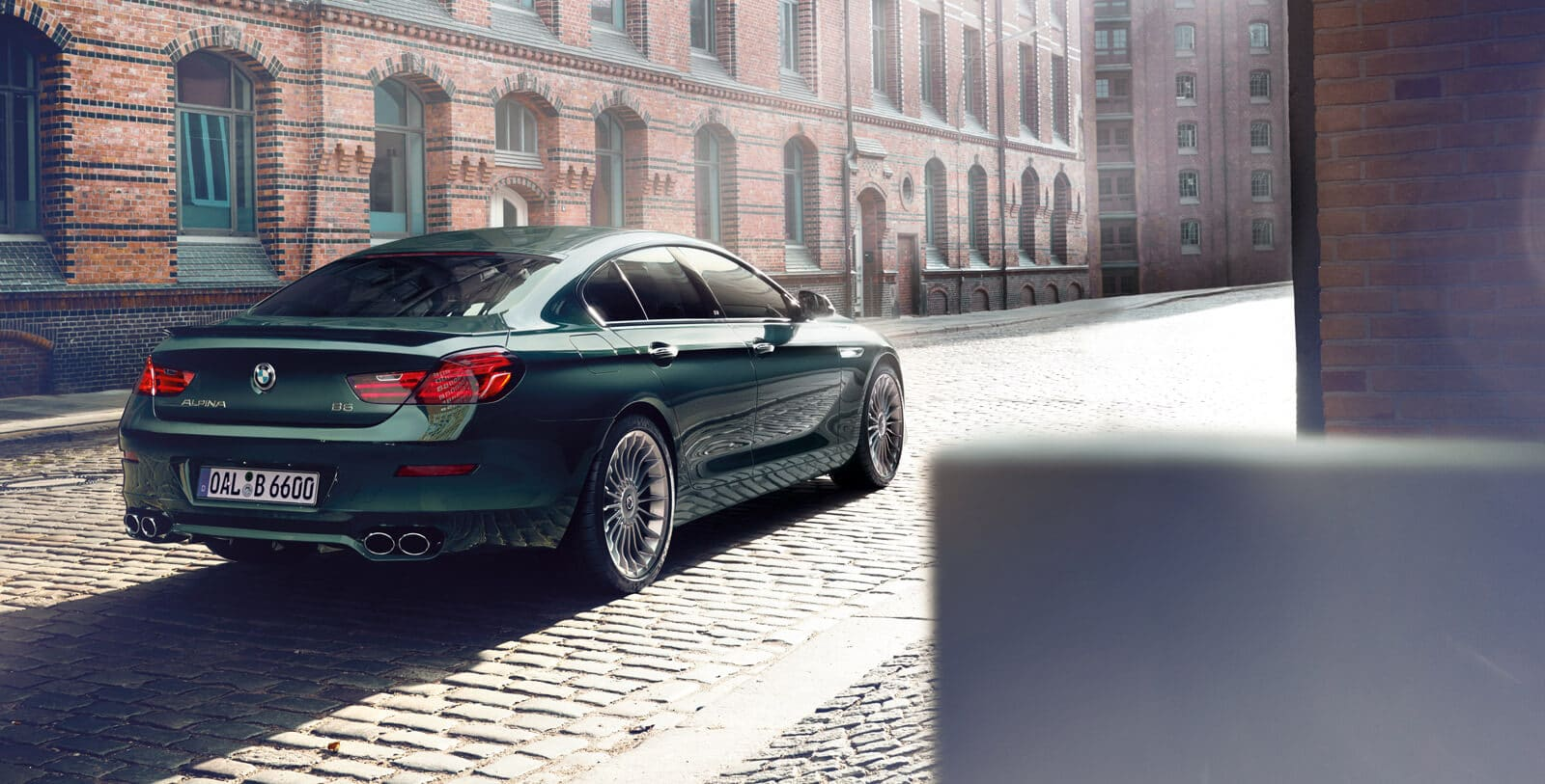 2019 BMW 640i Rear Green Exterior