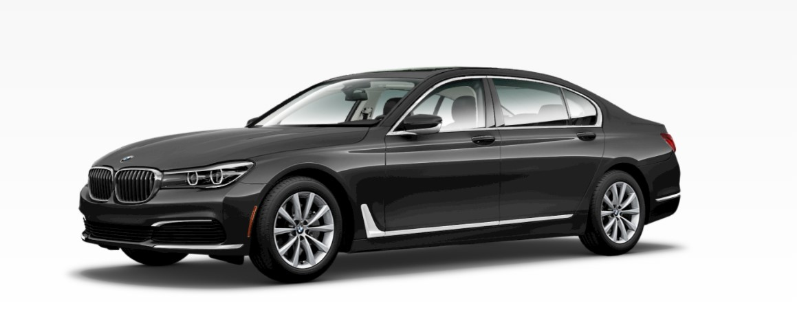 2019 BMW 740i Dark Graphic Metallic Front Exterior
