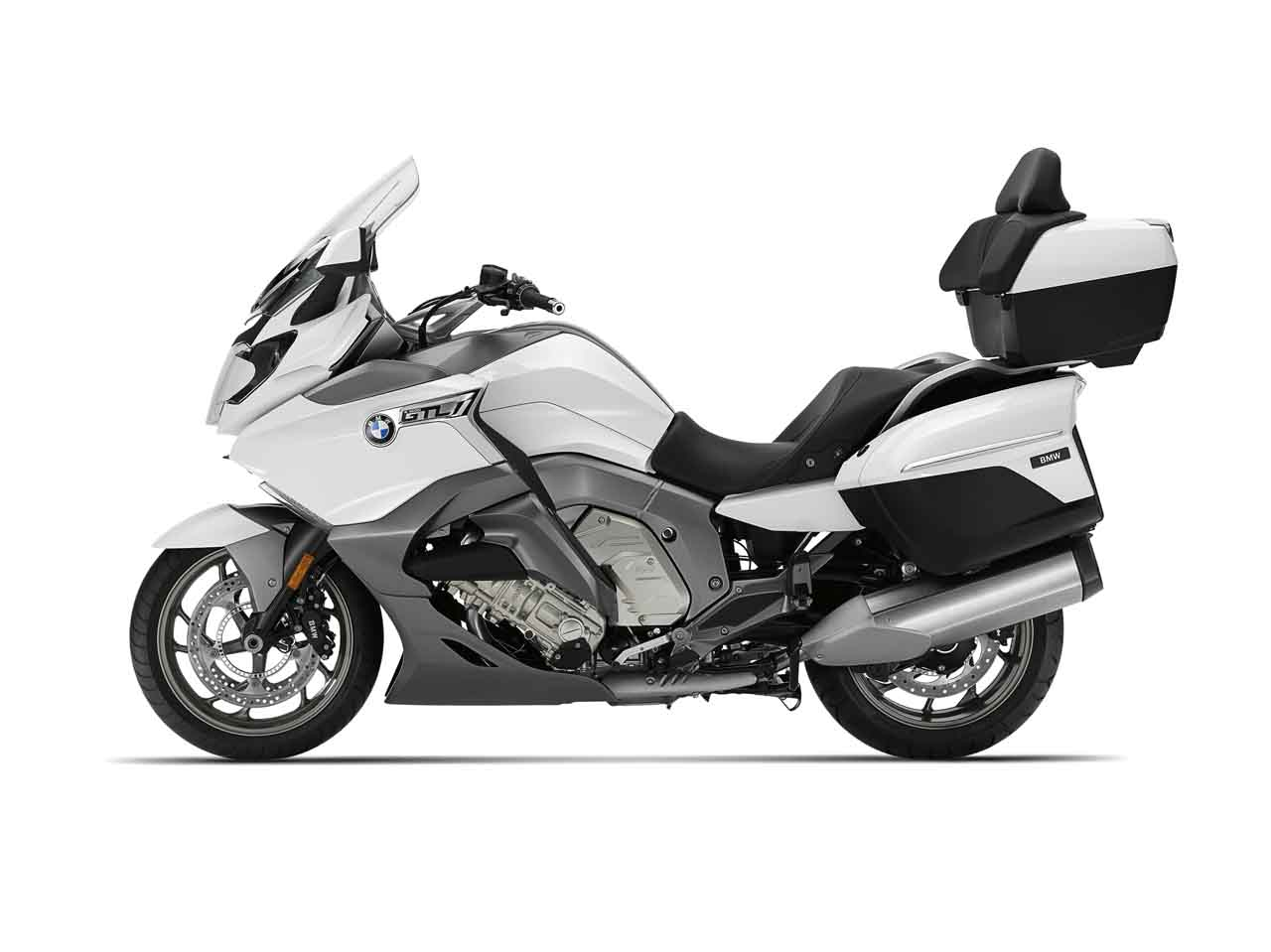 V2019 BMW K 1600 GTL Front Side White Exterior