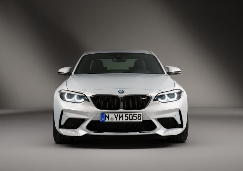 2019 BMW M2 Competition Front White Exterior
