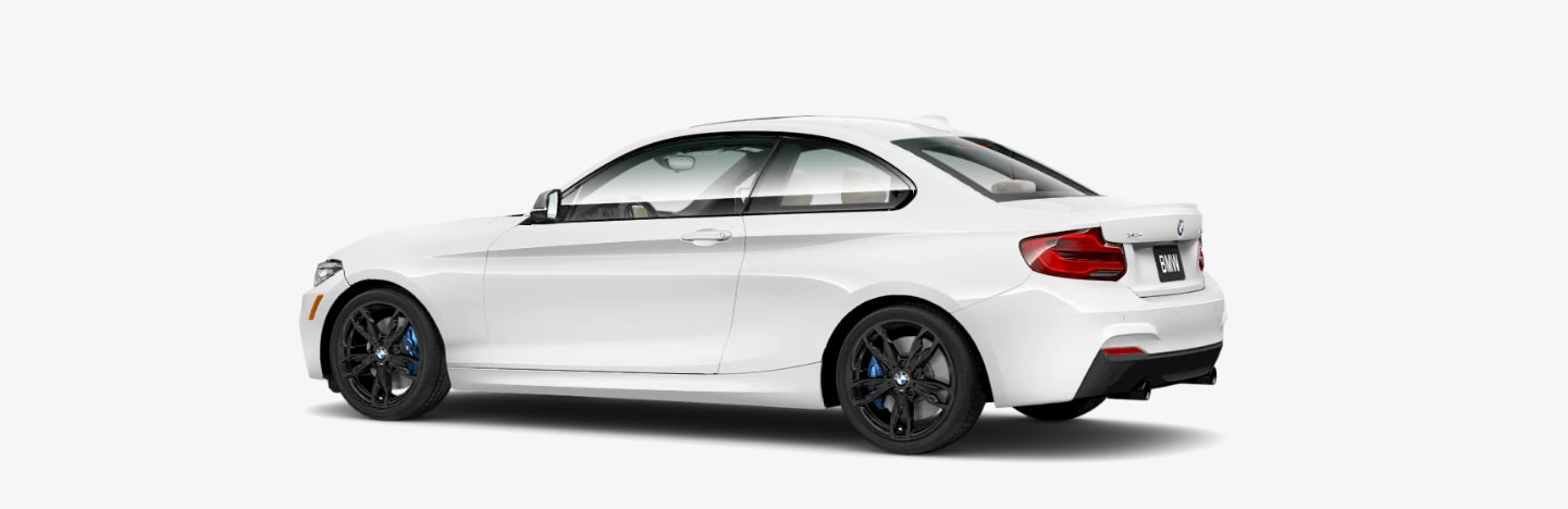 2019 BMW M240i White Exterior Rear