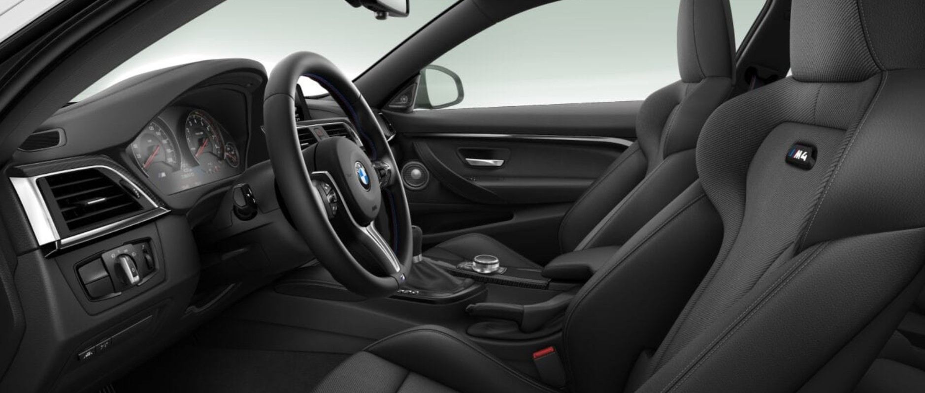 2019 BMW M4 CS Black Interior