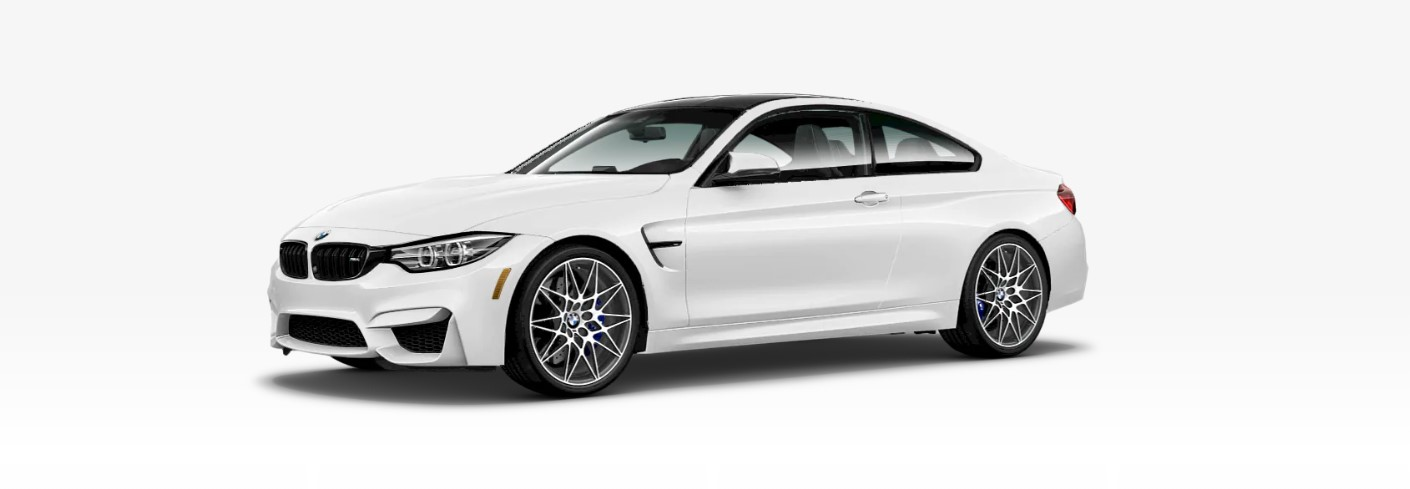 2019 BMW M4 CS Front White Exterior