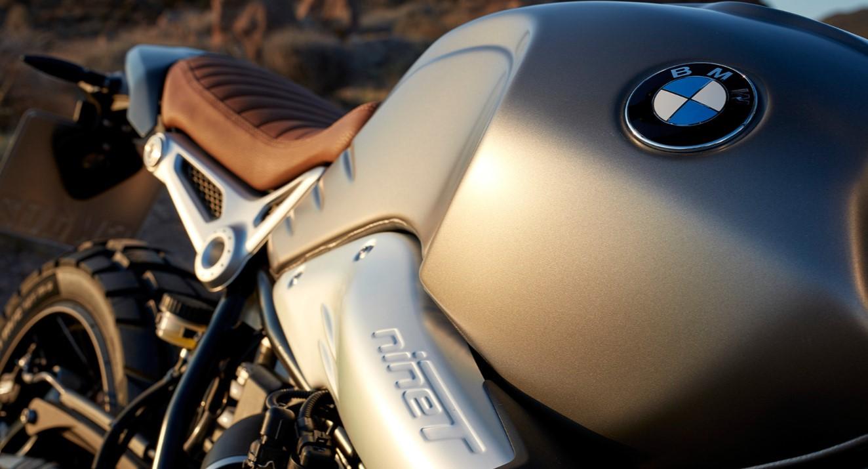 2019 BMW R nineT Scrambler Detail Cockpit