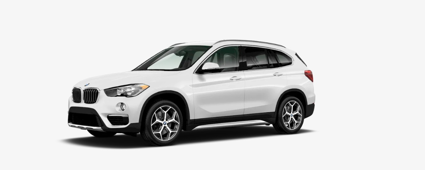 2019 BMW X1 sDrive28i Front White Exterior