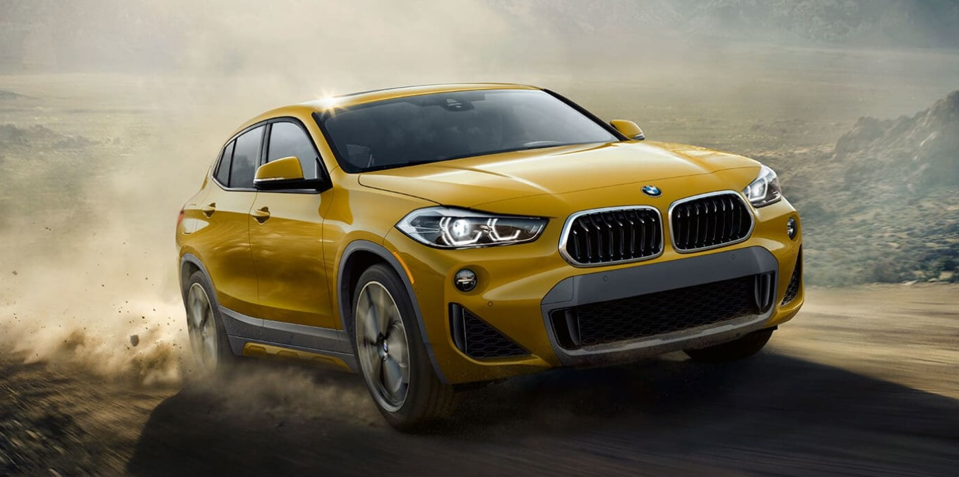 2019 BMW X2 Front Yellow Exterior