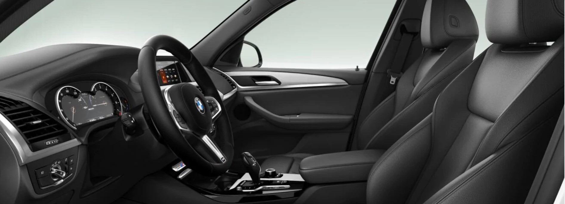 2019 BMW X3 M40i Black Interior