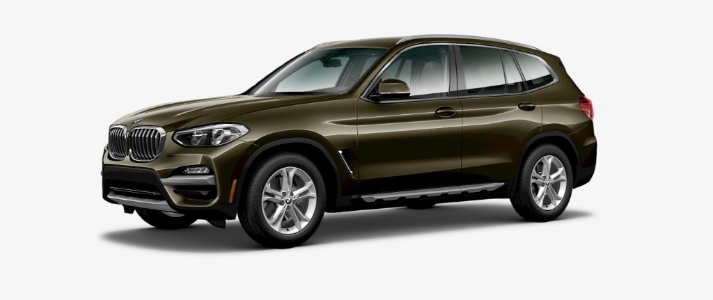 2019 BMW X3 sDrive 30i Front Olive Exterior