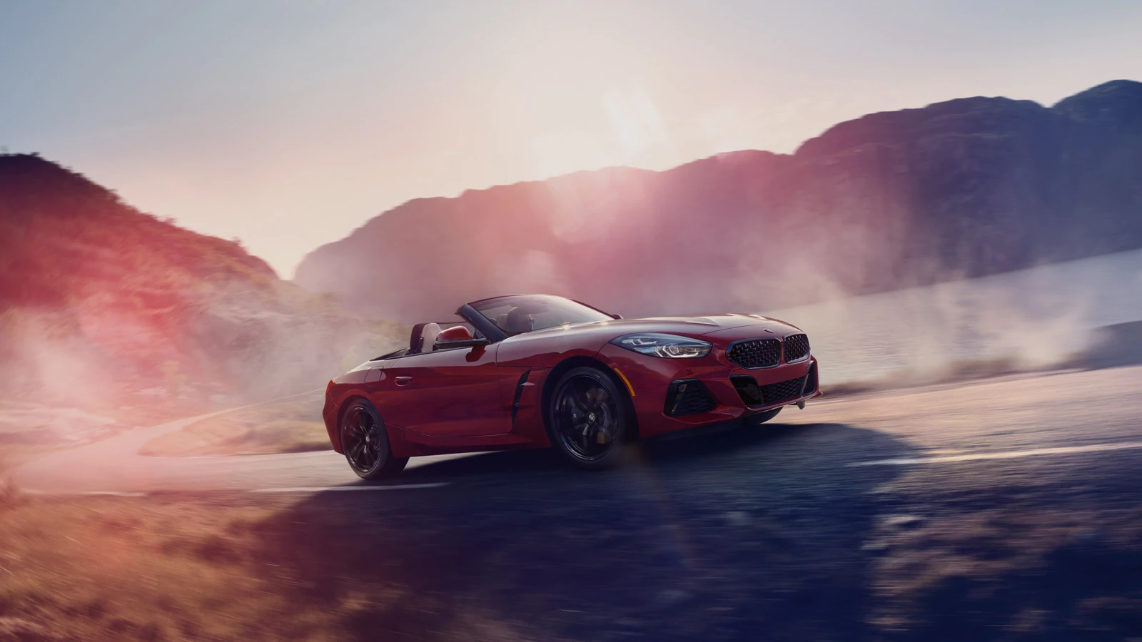 2019 BMW Z4 Red Exterior Side Picture