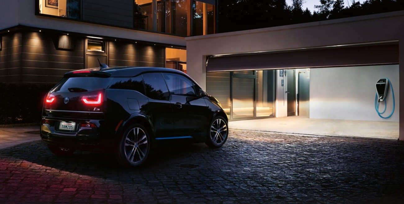 2019 BMW i3 Rear Black Exterior