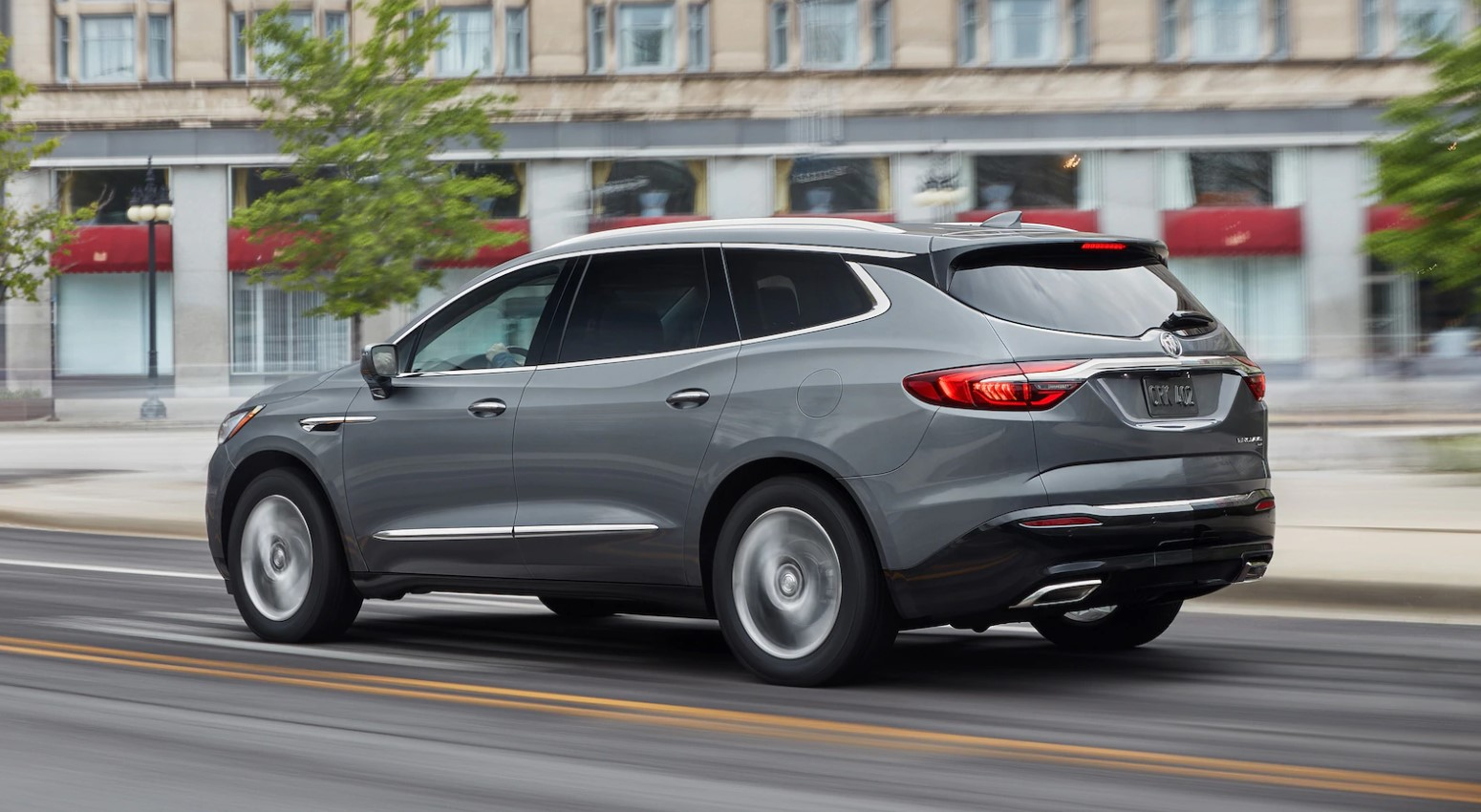 2019 Buick Enclave Dark Slate Exterior Side Picture
