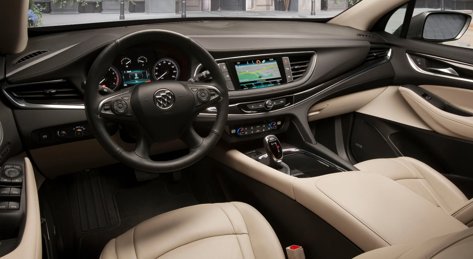 2019 Buick Enclave Front Interior Dashboard Picture