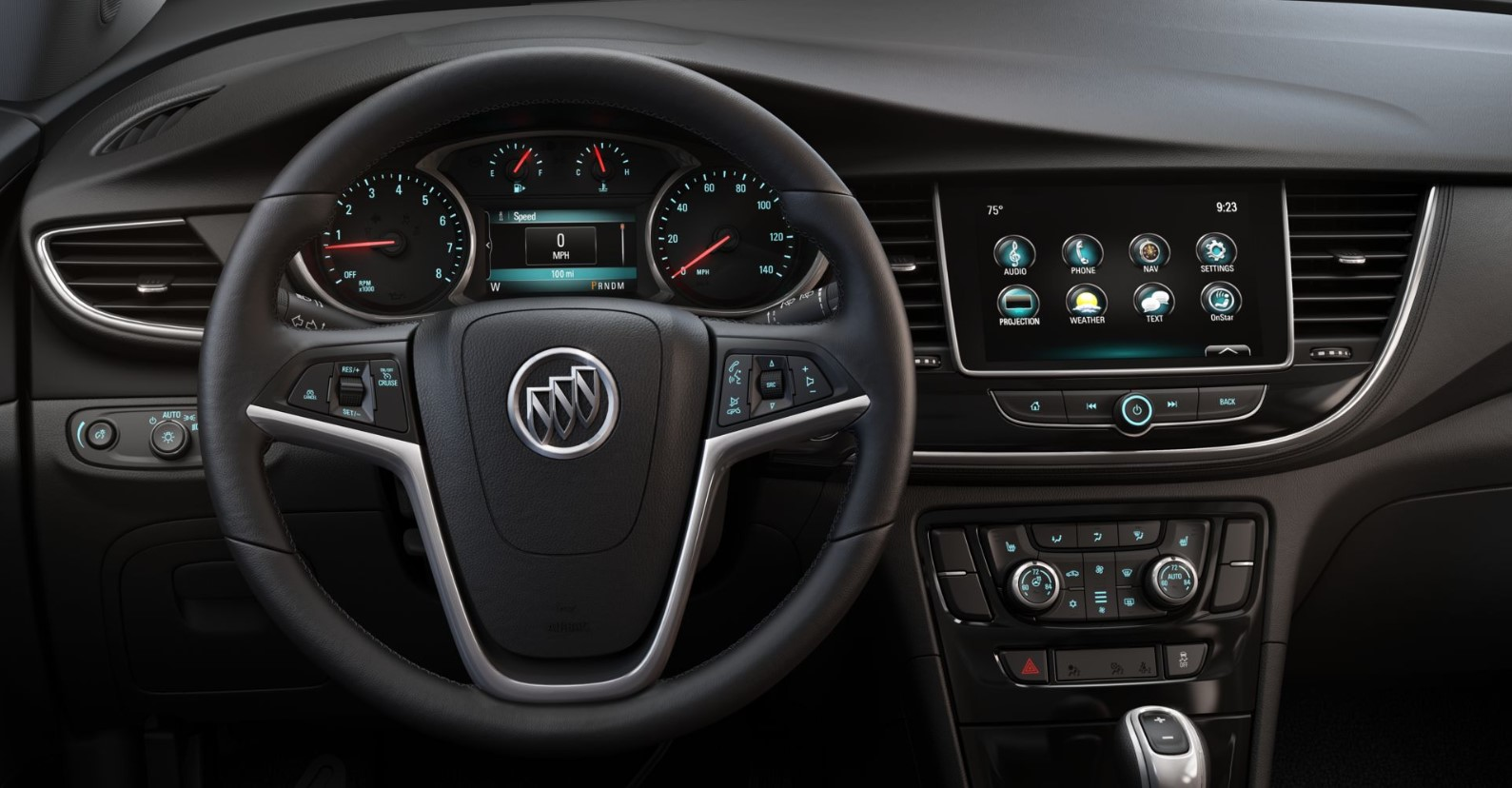 2019 Buick Encore Essence Black Interior
