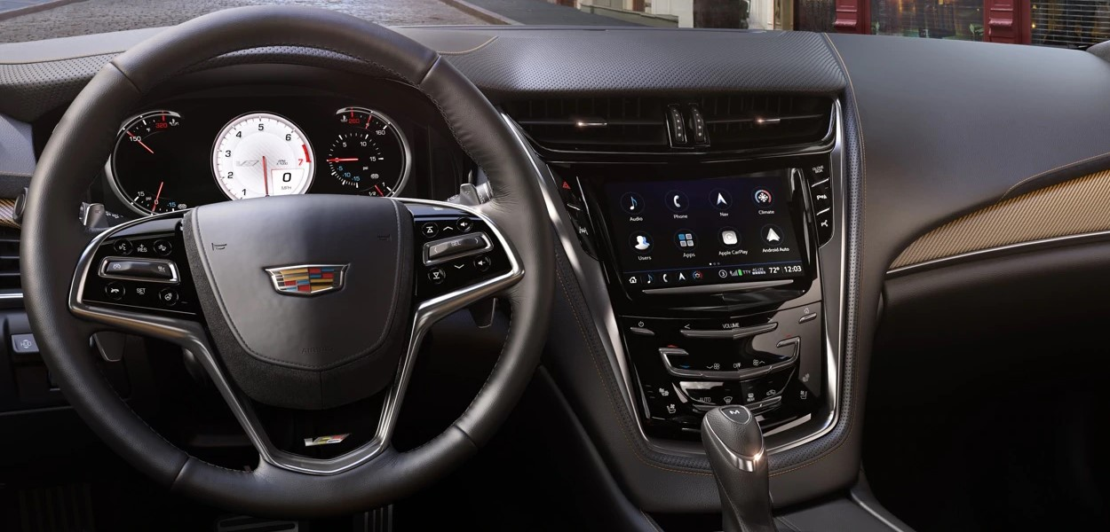 2019 Cadillac CTS Front Interior Detail Picture