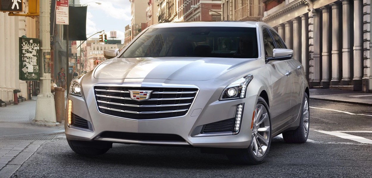 2019 Cadillac CTS Silver Exterior Front Picture