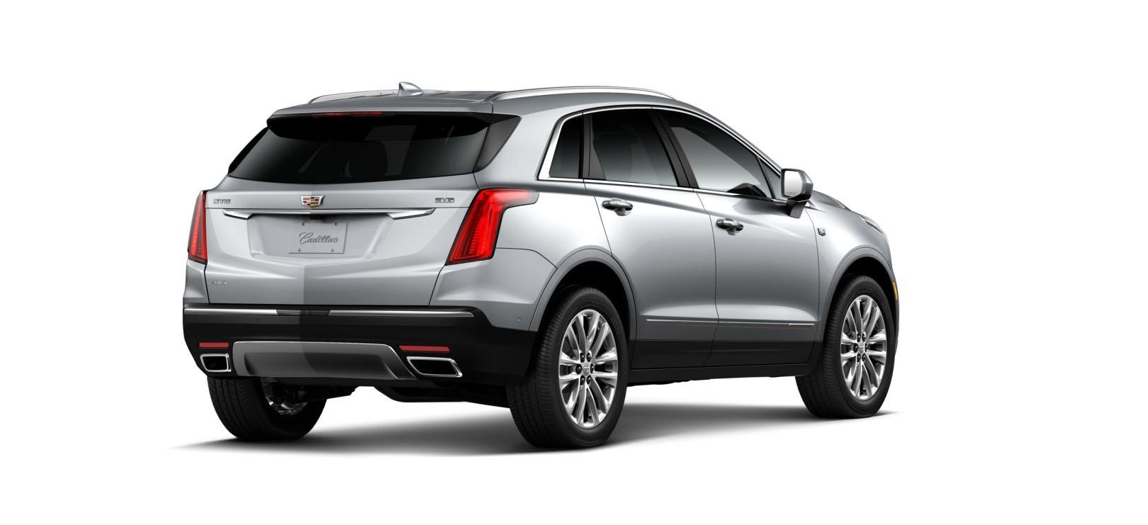 2019 Cadillac XT5 Platinum Rear Silver Exterior