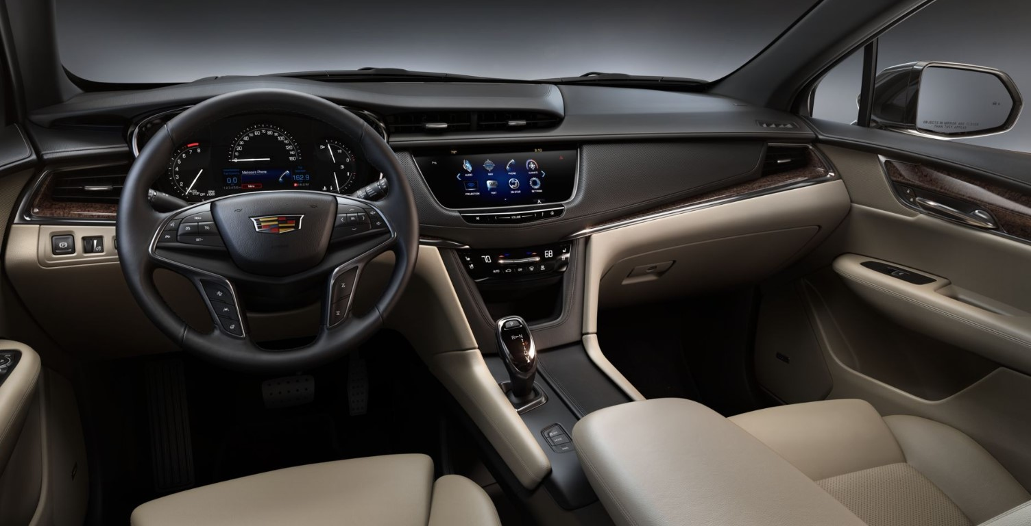 2019 Cadillac XT5 Premium Luxury Interior