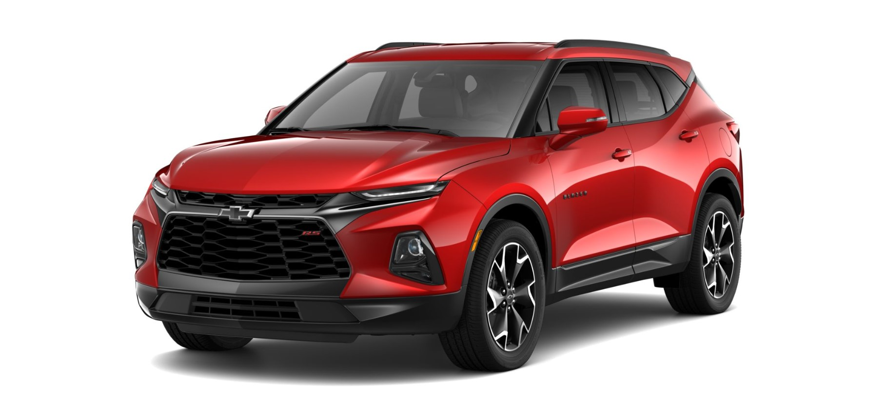 2019 Chevrolet Blazer RS Front Red Exterior