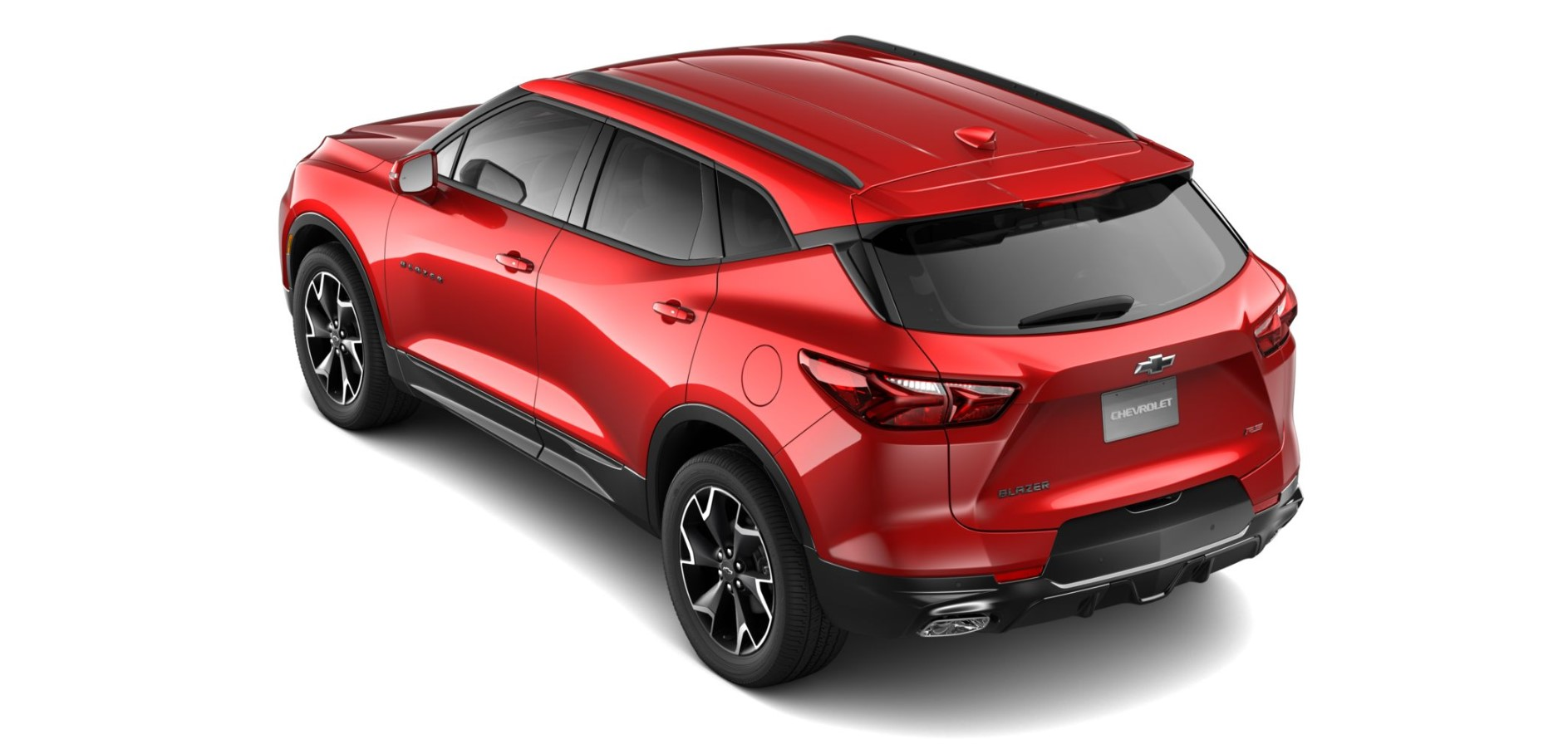 2019 Chevrolet Blazer RS Rear Red Exterior