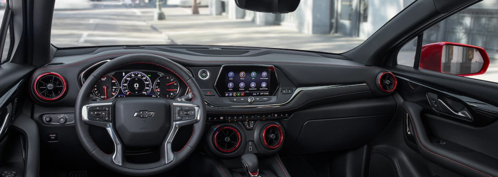 2019 Chevrolet Blazer Black Interior