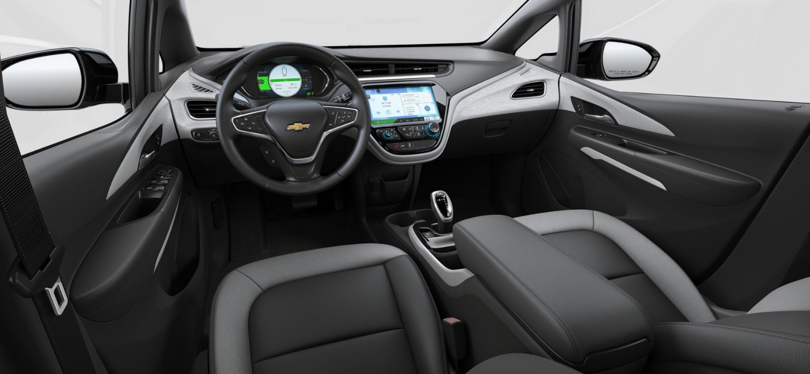 2019 Chevrolet Bolt Black Interior