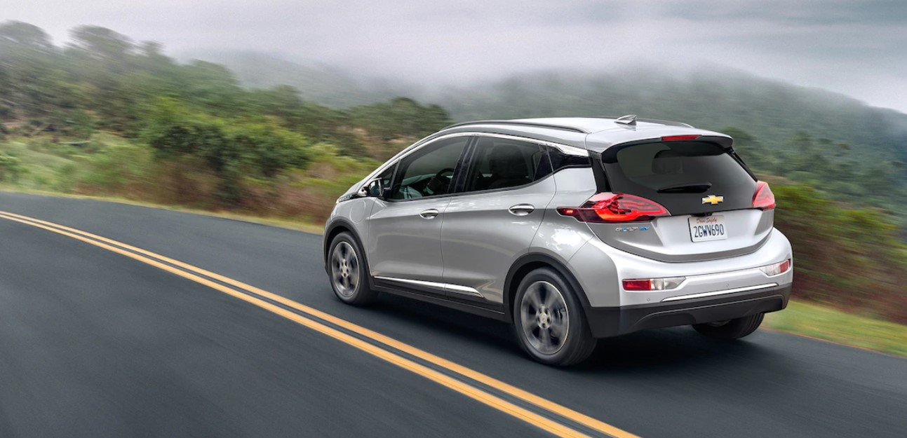 2019 Chevrolet Bolt White Rear Exterior