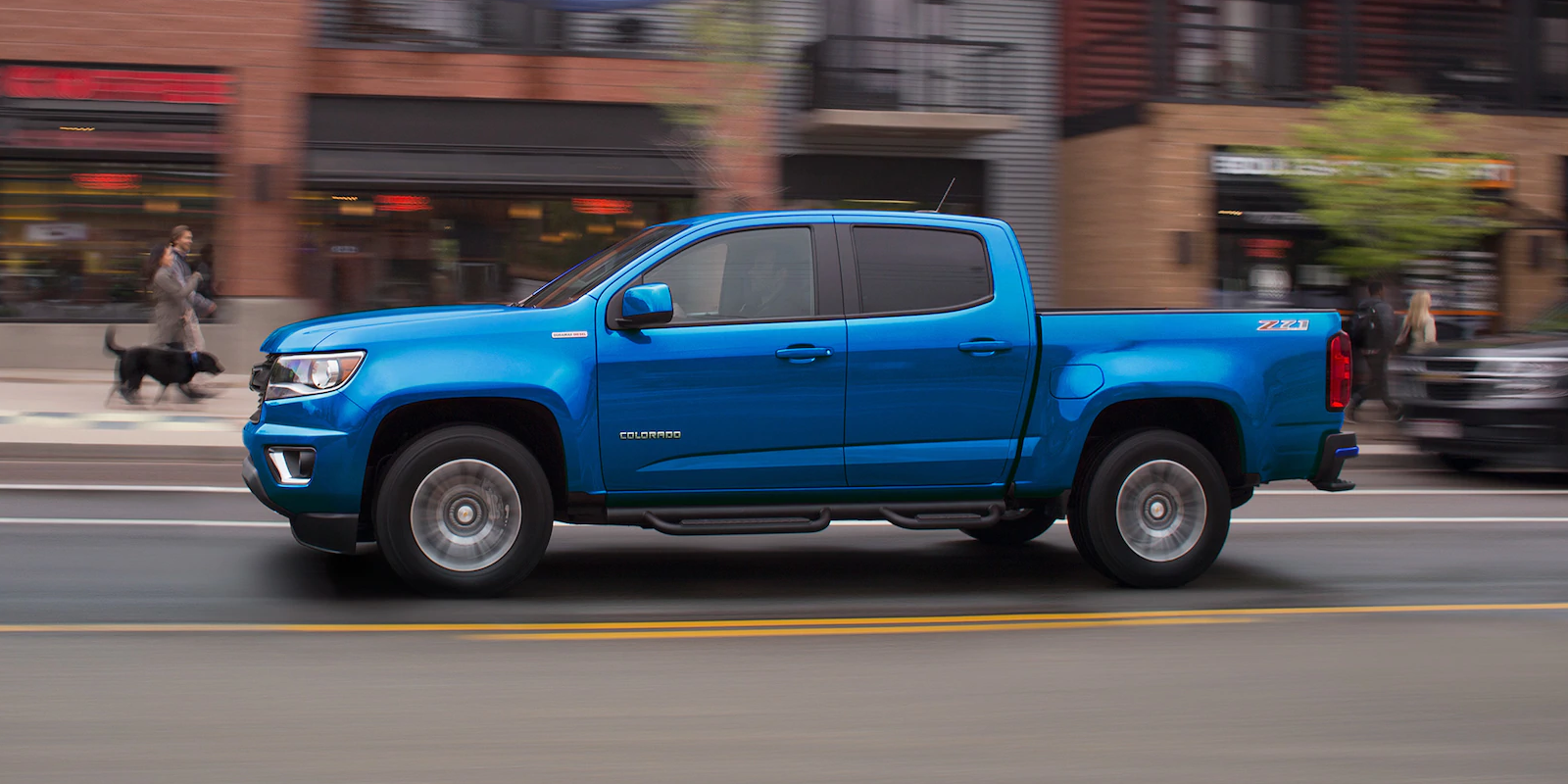 2019 Chevrolet Colorado Blue Exterior Side Profile Picture.png