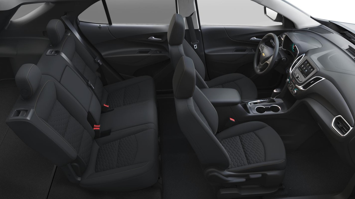 2019 Chevrolet Equinox LT Black Interior Seating Picture