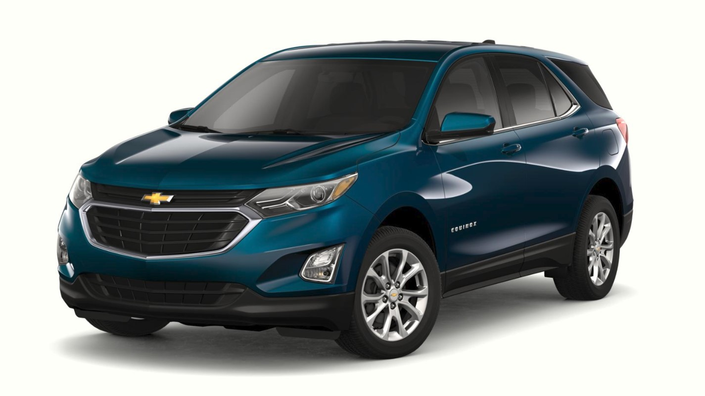 2019 Chevrolet Equinox LT Pacific Blue Exterior Front View Picture