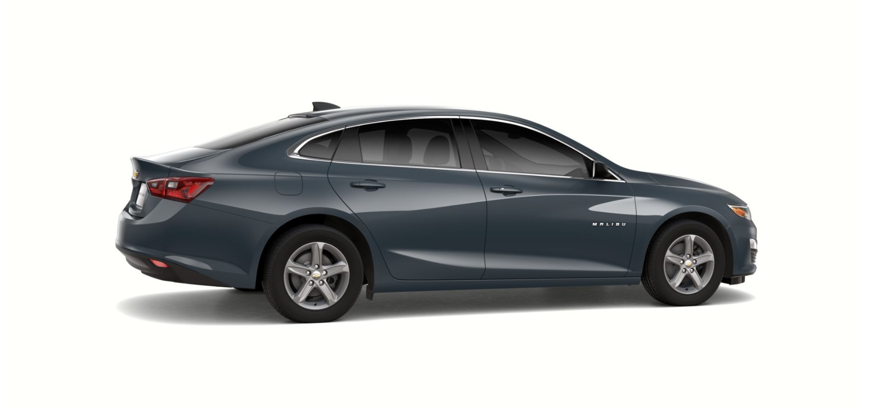 2019 Chevrolet Malibu LS Shadow Gray Exterior Side Picture