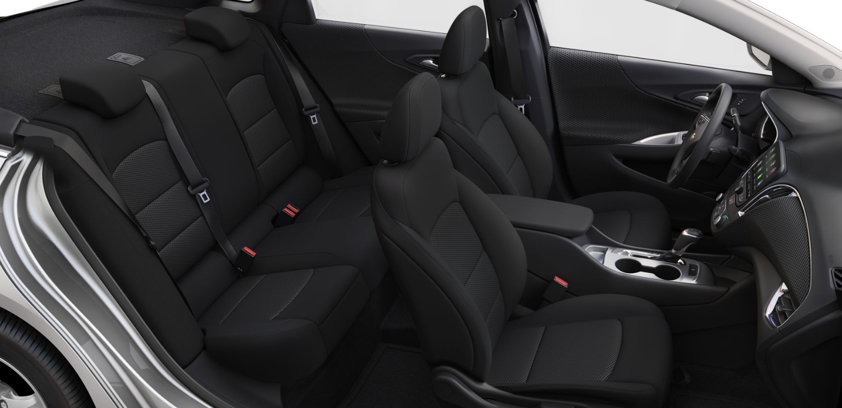 2019 Chevrolet Malibu LS Shadow Interior Seating Picture