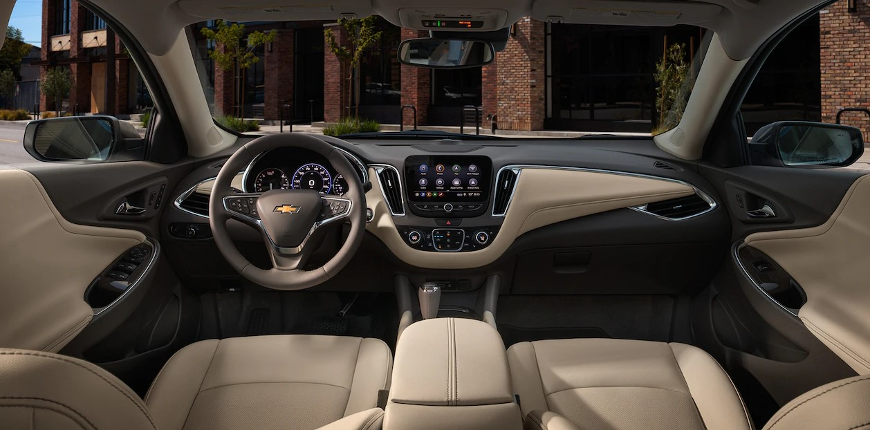 2019 Chevrolet Malibu Tan Interior