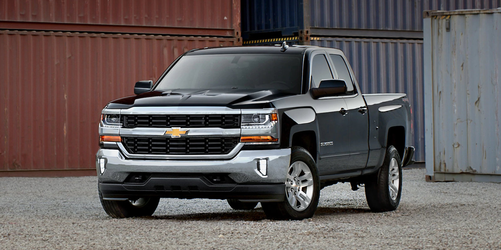 2019 Chevrolet Silverado 1500 Front Black Exterior Picture.png
