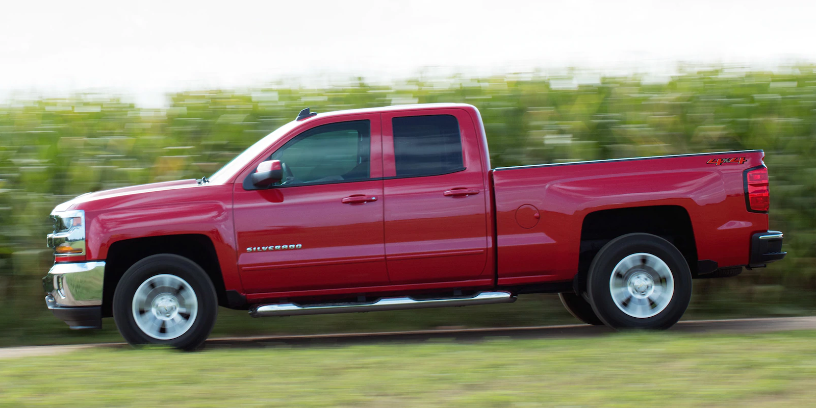 2019 Chevrolet Silverado 1500 Red Exterior Side Profile Picture.png