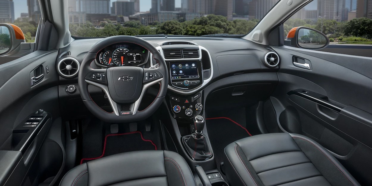 2019 Chevrolet Sonic Front Interior Dashboard