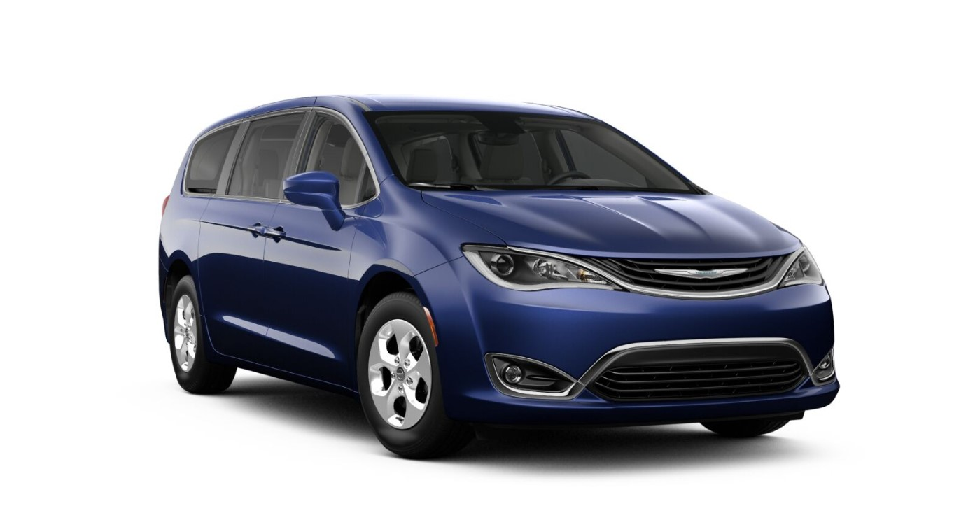 2019 Chrysler Pacifica Hybrid Touring Plus Blue Exterior Front Picture