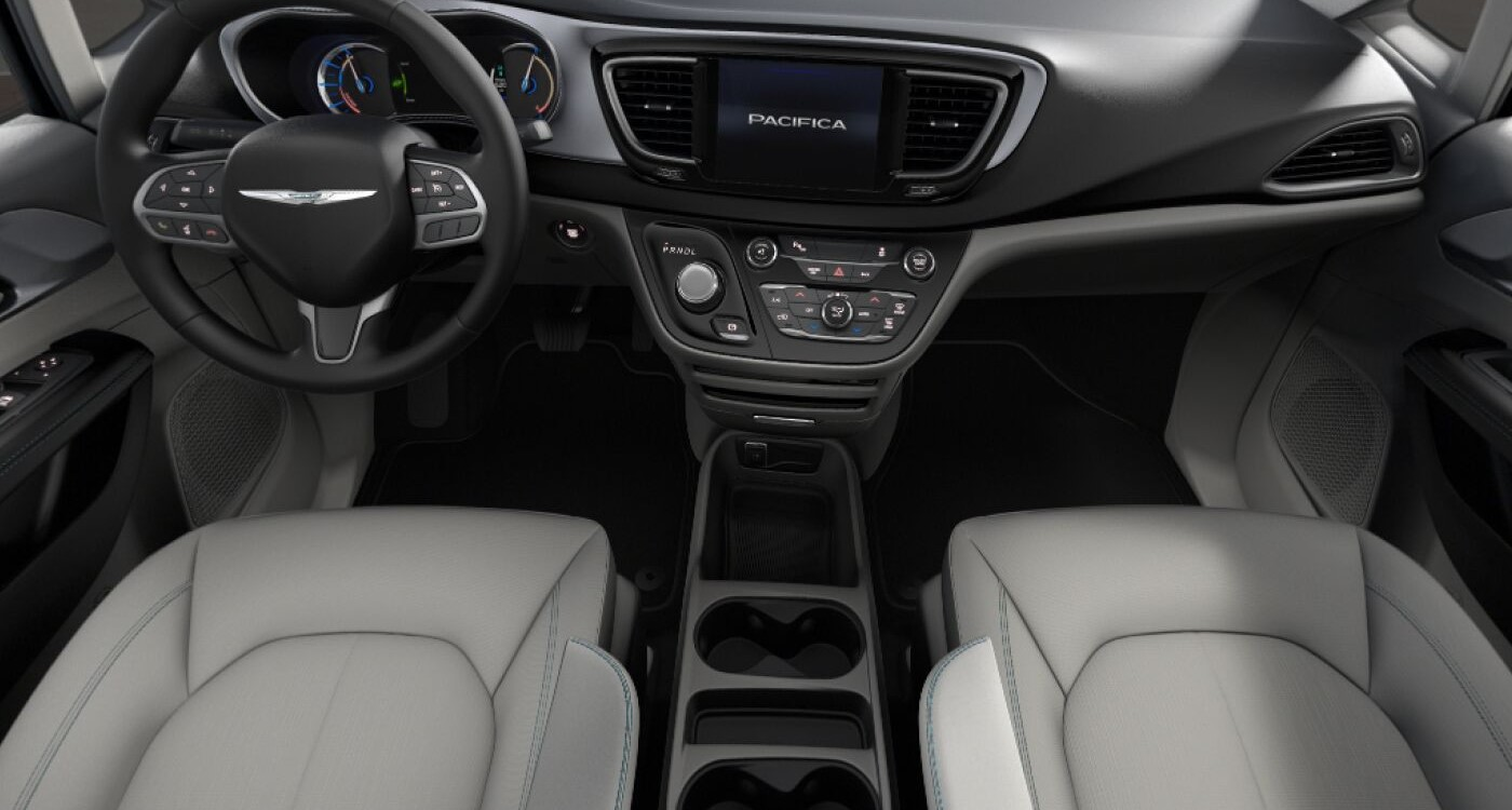 2019 Chrysler Pacifica Hybrid Touring Plus Front Interior Picture