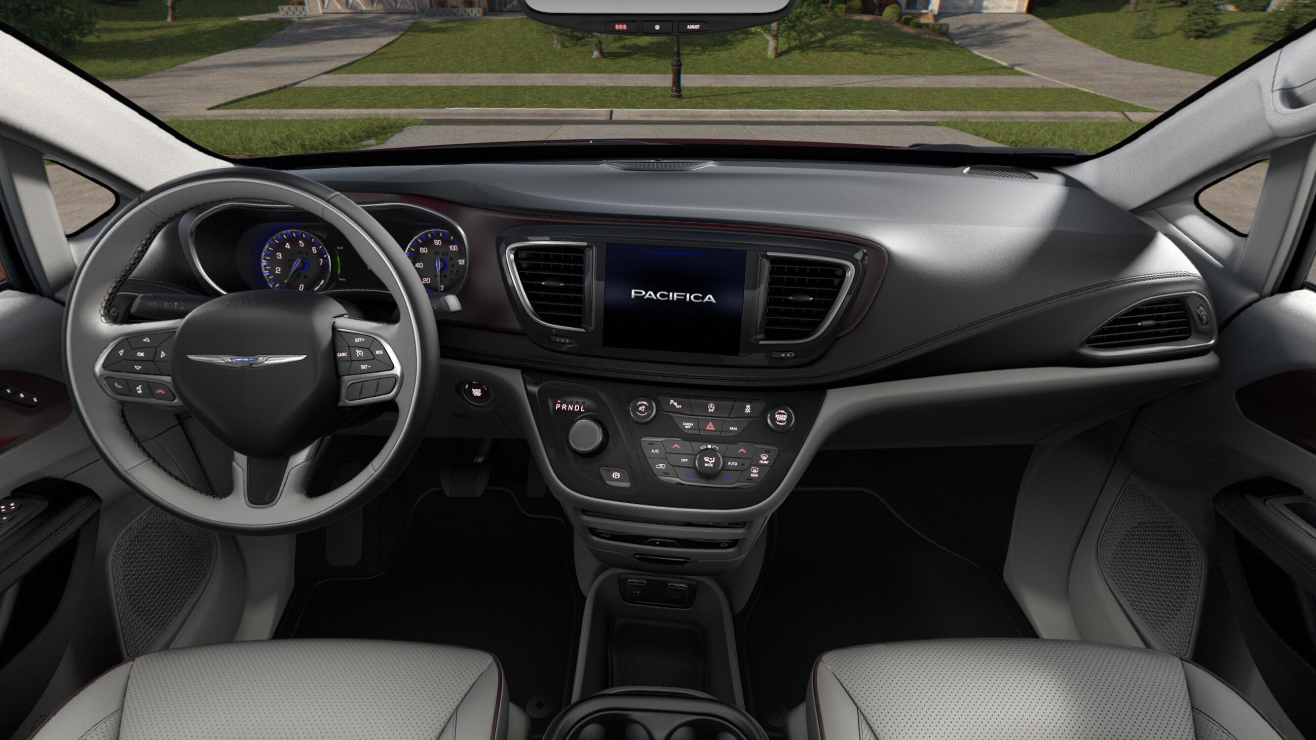 2019 Chrysler Pacifica Front Interior Detail Picture