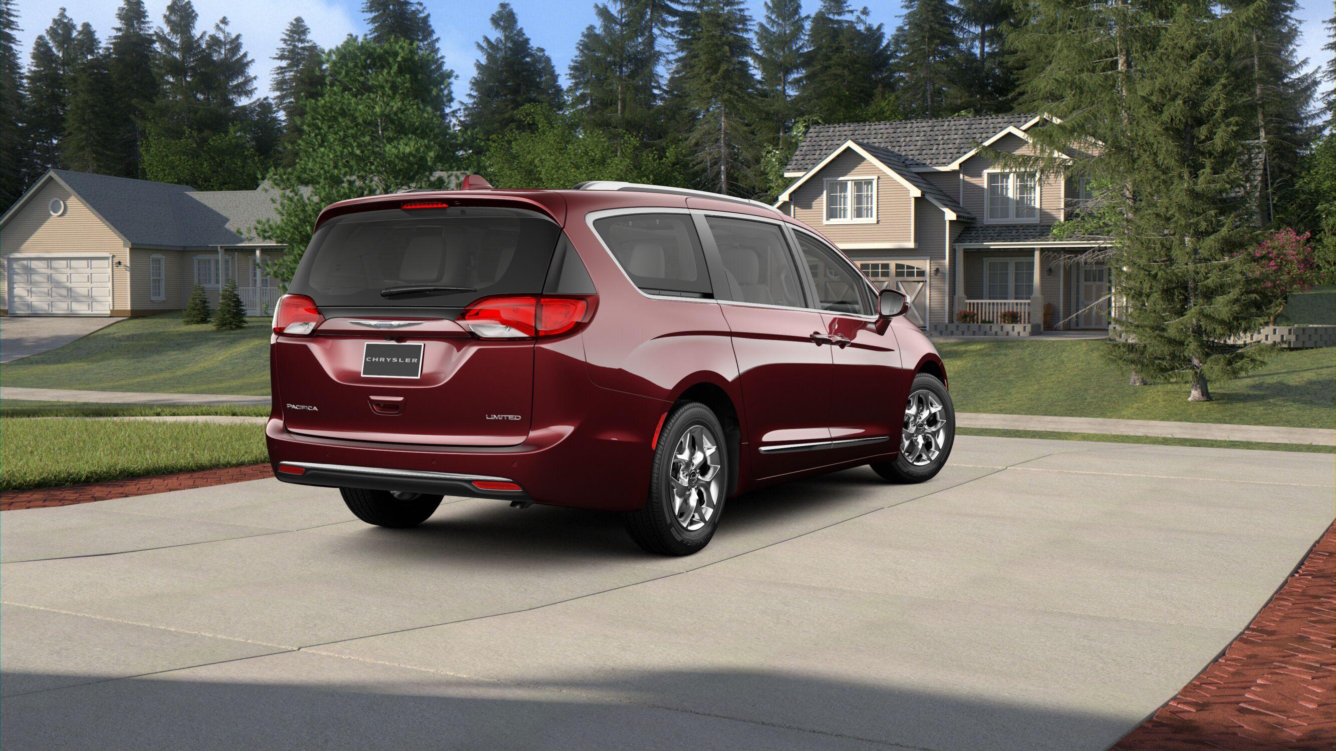2019 Chrysler Pacifica Limited Velvet Red Pearl Exterior