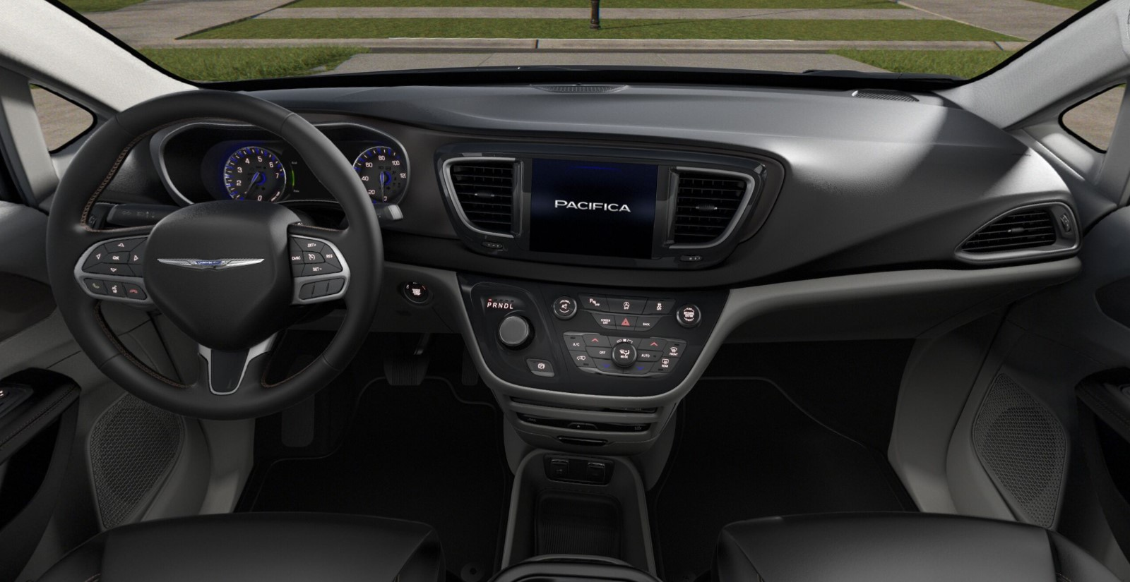 2019 Chrysler Pacifica Touring L Plus Front Interior Picture