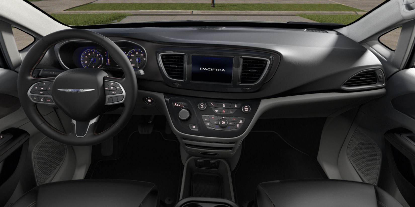 2019 Chrysler Pacifica Touring Front Interior Picture