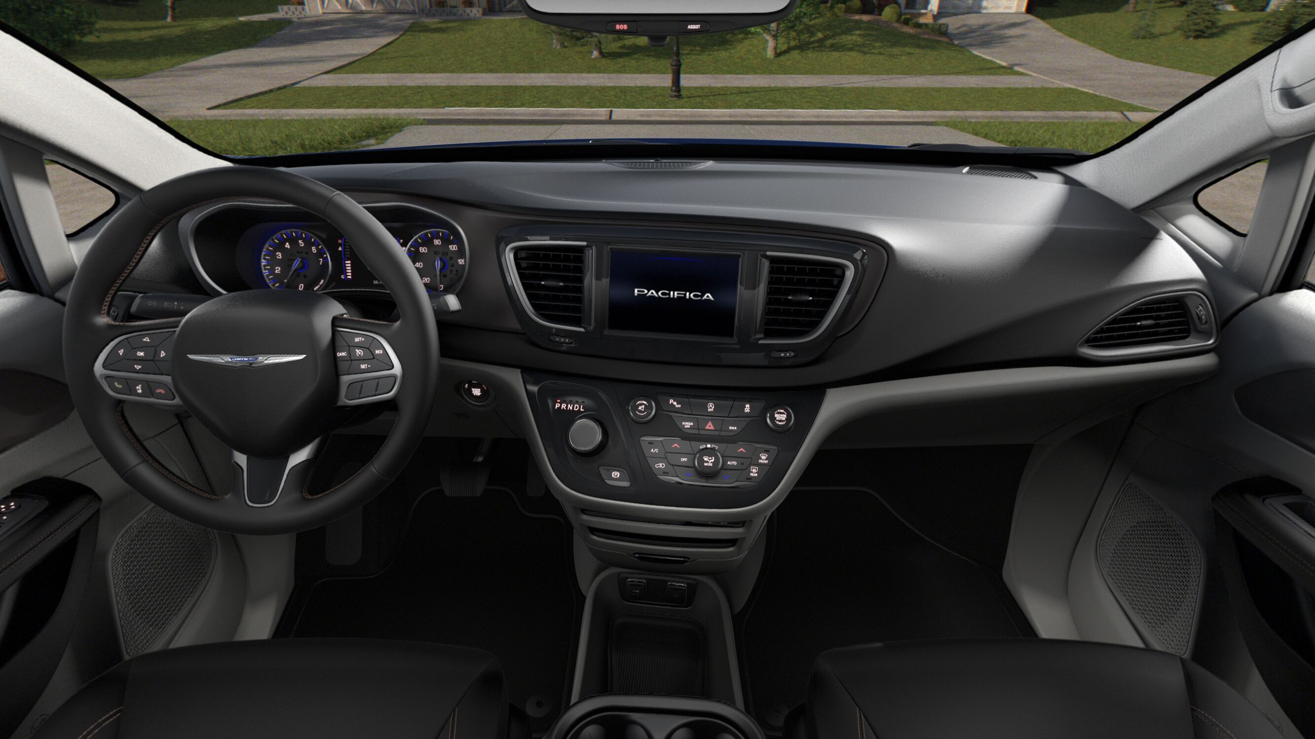 2019 Chrysler Pacifica Touring Plus Front Interior Picture