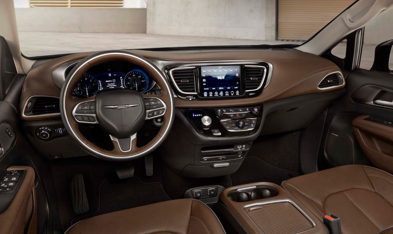 2019 Chrysler Pacifica Front Interior